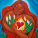 womanembracingheart